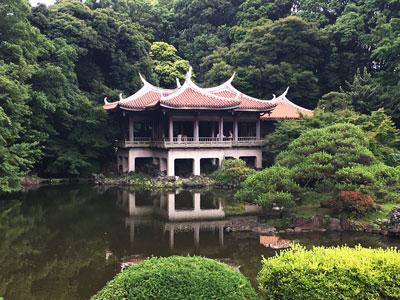 旧御涼亭(台湾閣)