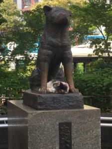 渋谷_ハチ公