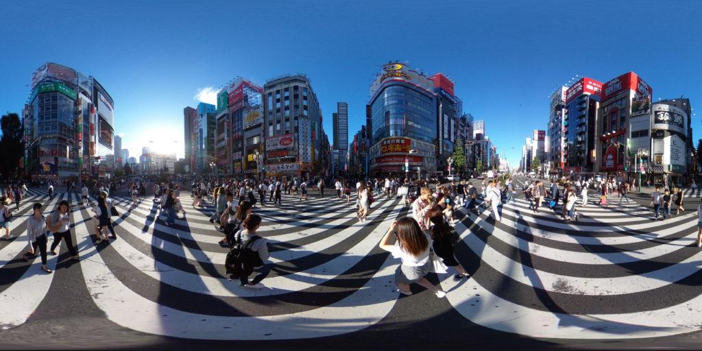 新宿_歌舞伎町_パノラマ写真